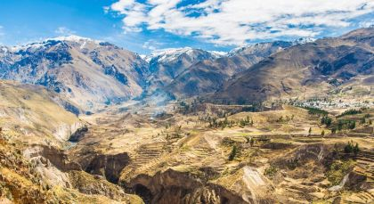 Reiseziel Colca in Peru