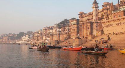Destination Varanasi in North India