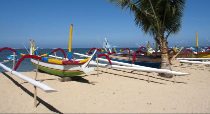 Destination Sanur in Indonesia
