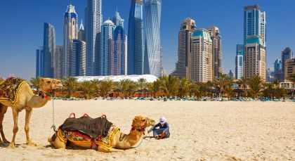Destination Dubai in United Arab Emirates
