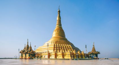Destination Nay Pyi Daw in Myanmar