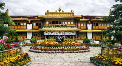 Lhasa in Tibet