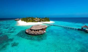Mirihi Island Mirihi Island Aerial