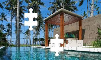 Luxury ocean pool villa