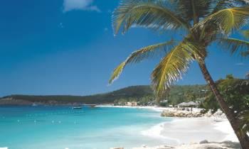 Antiguan beach
