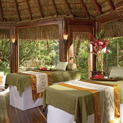 Rainforest Spa Cabin