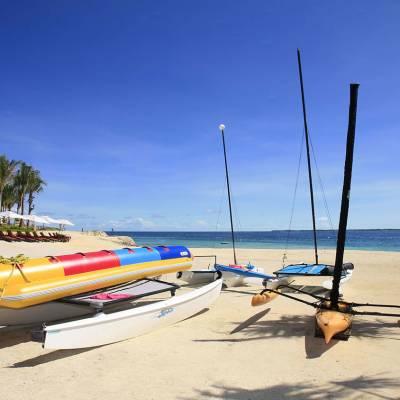 Beach Area with kayaks