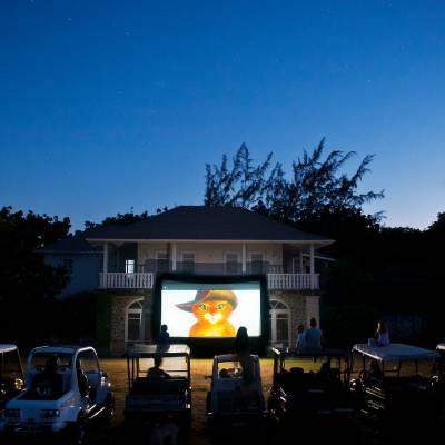 Children's outdoor cinema