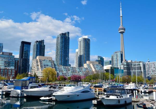 CN Tower from Harbour