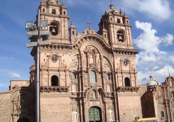 Church in Cusco Peru