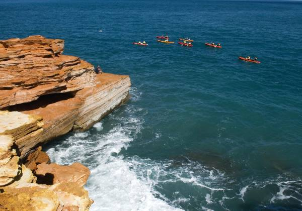 Broome cliff face