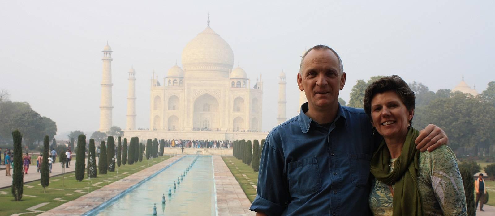 Guest Visit to Taj Mahal, Agra