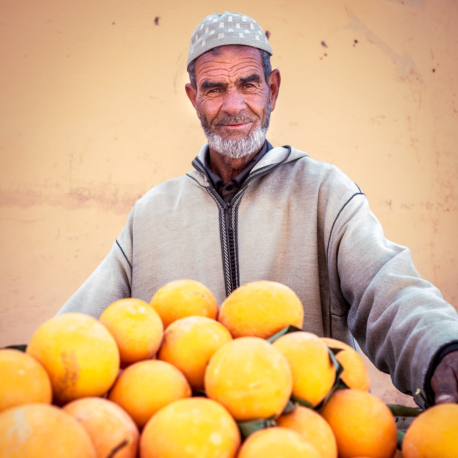 Morocco is known for its citrus fruits