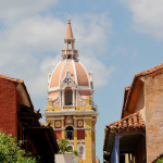Colombia Tours Enchanting Travels pretty church in Cartagena