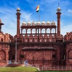 The Red Fort of New Delhi.