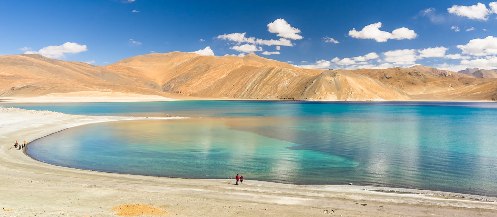 Enchanting Travels India Tours Leh Pangong lake in autumn ,leh ladakh india - himalaya trekking