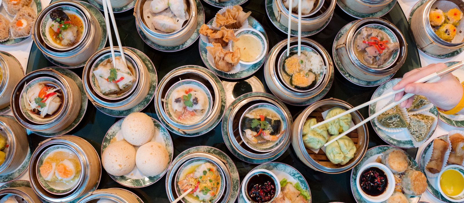 Dim Sum, Hongkongs Küche, Asien
