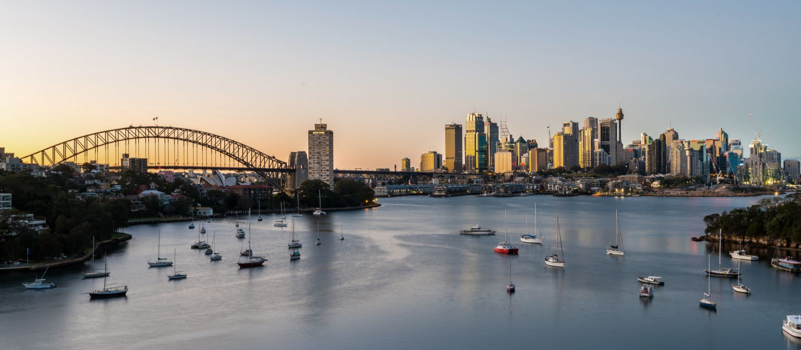 Sydney Sunrise at Waverton, Sydney, Australia