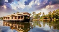 Alleppey (Alappuzha) Hausboot auf den Kerala Backwaters