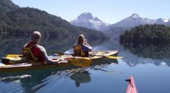 Mit dem Kajak die schönsten Seen Bariloches erkunden