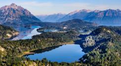 Bariloche in Nahuel Huapi National Park, Patagonia region in Argentina