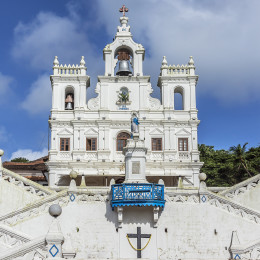 Portuguese Church, Goa, India, Asia
