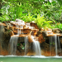Hot springs in Arenal, Costa Rica