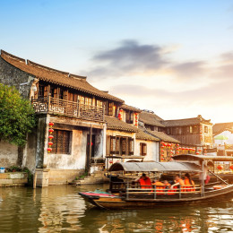 Xitang ancient town , Xitang is first batch of Chinese historical and cultural town, located in Zhejiang Province, China