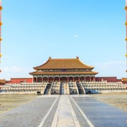 Enchanting Travels China Tours ancient royal palaces of the Forbidden City in Beijing,China - Modern history of China