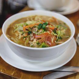 Thukpa is a Tibetan noodle soup
