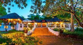 Außenansicht im Hotel Rissington Inn in Blyde River Canyon, Südafrika