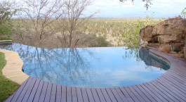 Pool at Elsas Kopje in Meru National Park, Kenya