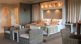 Doppelzimmer im De Tafelberg Guesthouse Hotel in Kapstadt, Südafrika