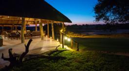 Außenansicht im Hotel Inyati Game Lodge in Kruger, Südafrika