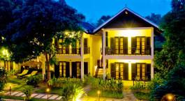 Exterior view at La Maison dAngkor Hotel in Siem Reap, Cambodia