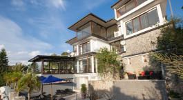 Exterior view at Theva Residency Hotel , Kandy in Sri Lanka