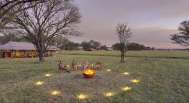 Campfire at Kimondo Camp – Serenegeti South, Tanzania