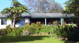 Exterior view of Norma Jeans Lakeview Resort Hotel in Zimbabwe
