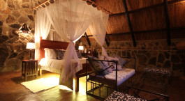 Room at Big Cave Camp in Matopos, Zimbabwe