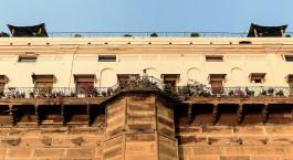 Enchanting Travels - India Tours - Varanasi -Suryauday Haveli - exterior view