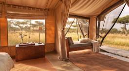 Tent at Naboisho Camp, Masai Mara, Kenya
