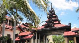 Enchanting Travels - Asien Reisen- Myanmar -  Amazing Bagan Hotel -Außenansicht