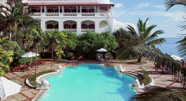 Pool at Zanzibar Serena Hotel in Stone Town, Tanzania
