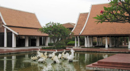 Exterior view of Sukhothai Hertiage Resort in Sukhothai, Thailand