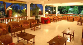 Enchanting Travels - South India Tours -Thanjavur - Ideal River View Resort - Lounge