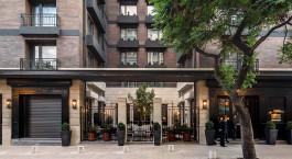 Exterior view of The Singular Santiago, Lastarria Hotel in Santiago de Chile, Chile