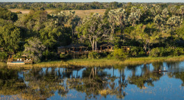 Enchanting Travels Africa Tours Botswana Okavango Delta Pelo Camp view