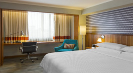 Double room at Four Points By Sheraton Miraflores in Lima, Peru