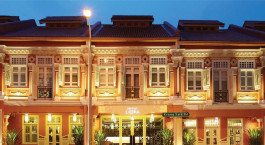 Enchanting Travels - Asia Tours - Singapore Hotels - Naumi Liora - Liora-Facade-Night