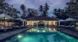 Pool at Taru Villas – Lighthouse Street Hotel in Galle Fort, Sri Lanka